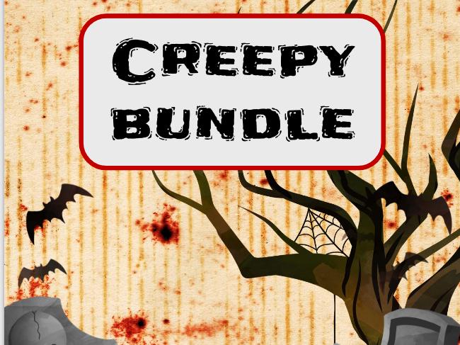Creepy BUNDLE - Suspenseful Writing & Horror Movie Trailer