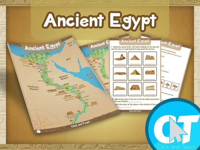 KS2 - Ancient Egypt Map Activity