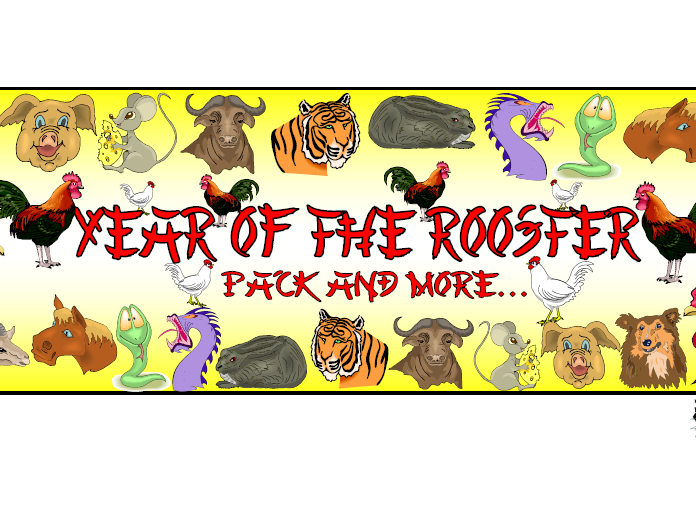Year of the Rooster Themed Pack
