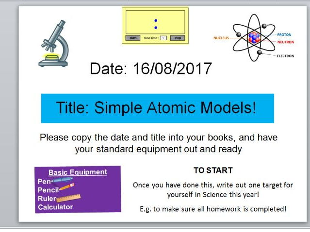 Introduction to the Periodic Table, Atoms, Elements and Compounds!