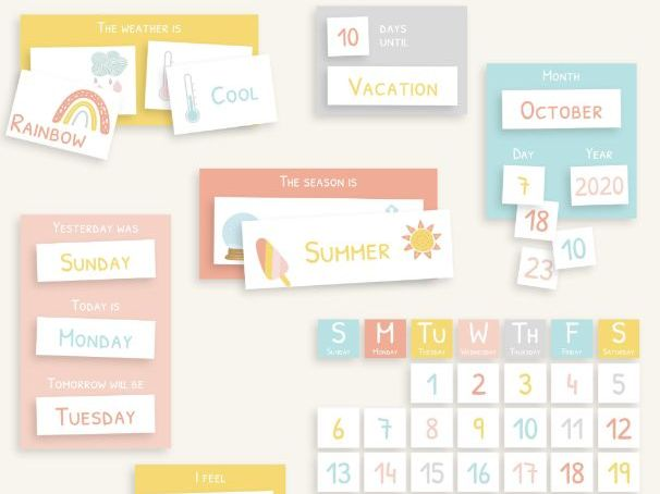 Editable Morning Board | Morning Routine | Circle Time