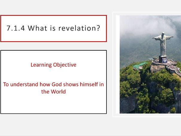 7.1.4 What is revelation?