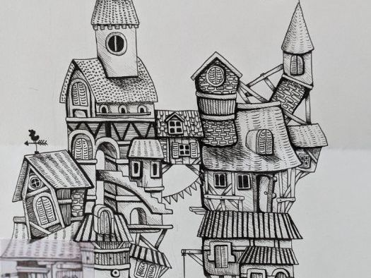 Drawings from Invisible Cities