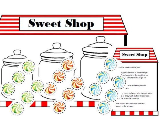 Sweet Shop Strategy Game - Counting and Critical Thinking for Early Years