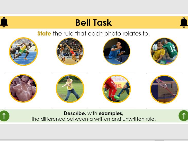 Level 2 BTEC Sport: Unit 2 - Rules