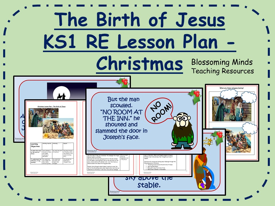KS1 Christmas RE lesson - The birth of Jesus