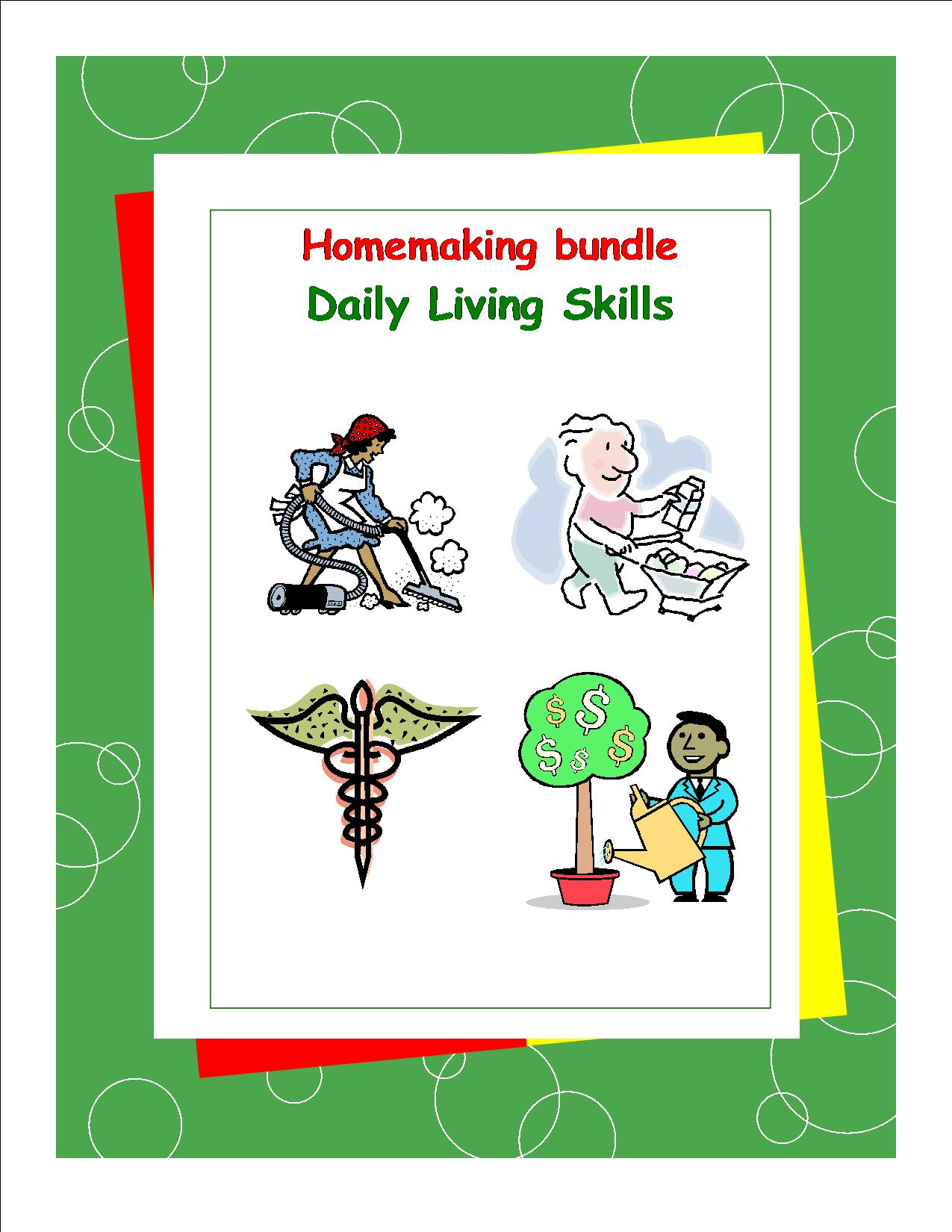 DLS-Homemaking Workbooks Bundle Pack