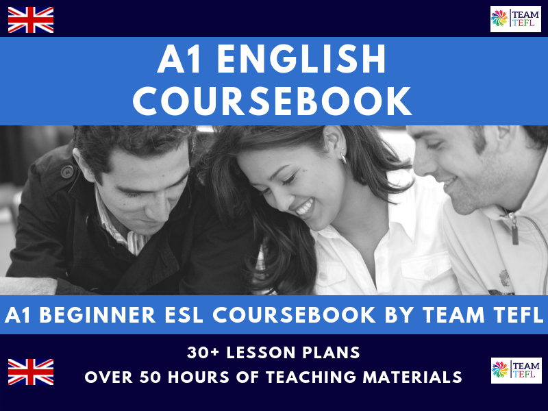 A1 Beginner English Complete Coursebook for ESL