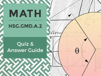 HSG.GMD.A.2 Quiz