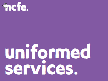 NCFE LEVEL 2 DIPLOMA FOR ENTRY TO THE UNIFORMED SERVICES (601/2456/8) Workbook Package