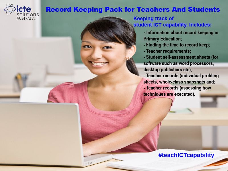 Record Keeping of Student ICT Skills and Teacher Records