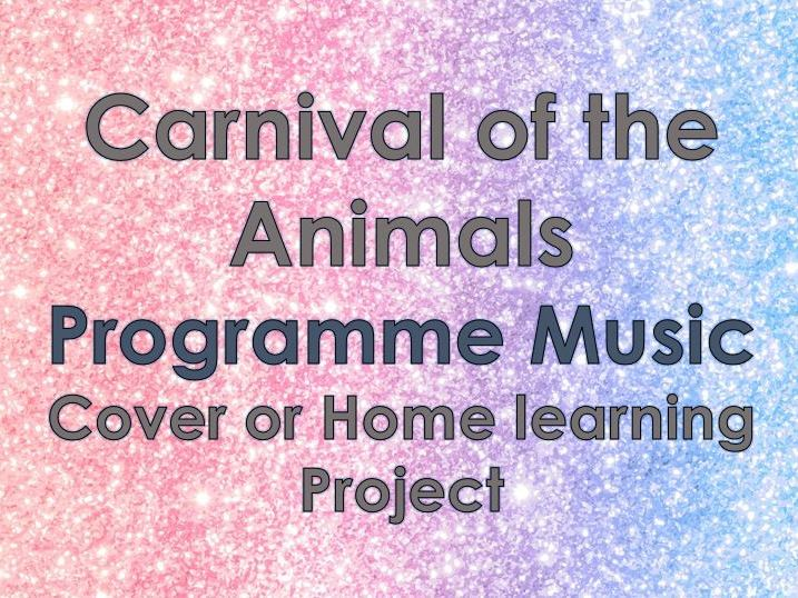 Carnival of the Animals - Homelearning/Cover
