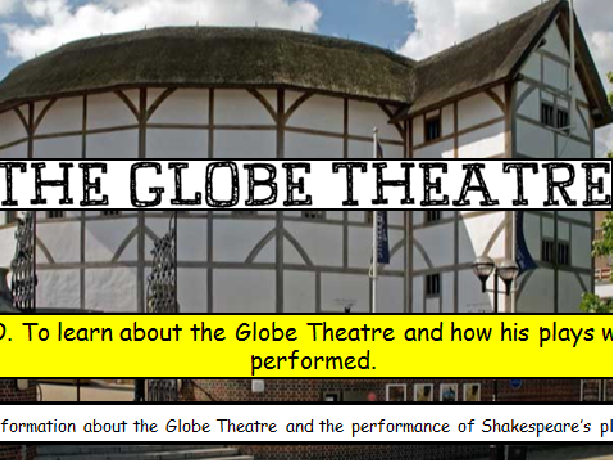 The Globe Theatre and Actors