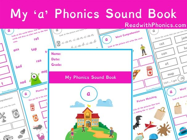'a' Sound Phonics Bundle | Phonics Resources | Phonics Worksheets | CVC Words | EYFS