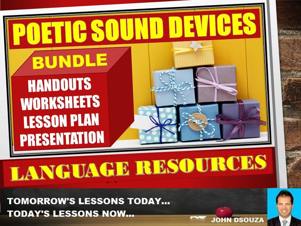 POETIC SOUND DEVICES BUNDLE