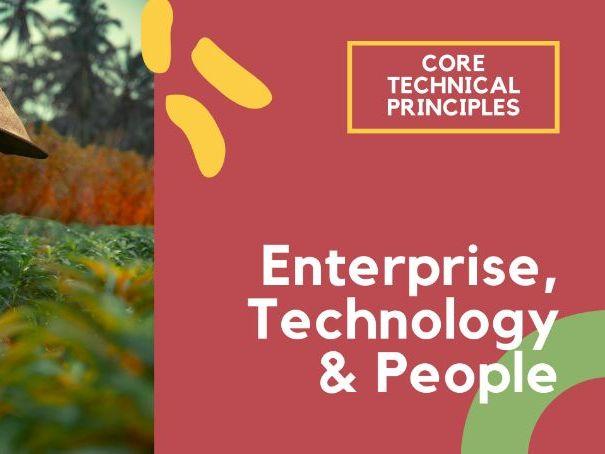 Enterprise and people - PPT GCSE DT