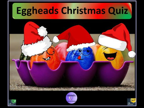 The Eggheads Christmas Quiz 2017