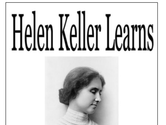 Helen Keller Learns little reader guided reading kit