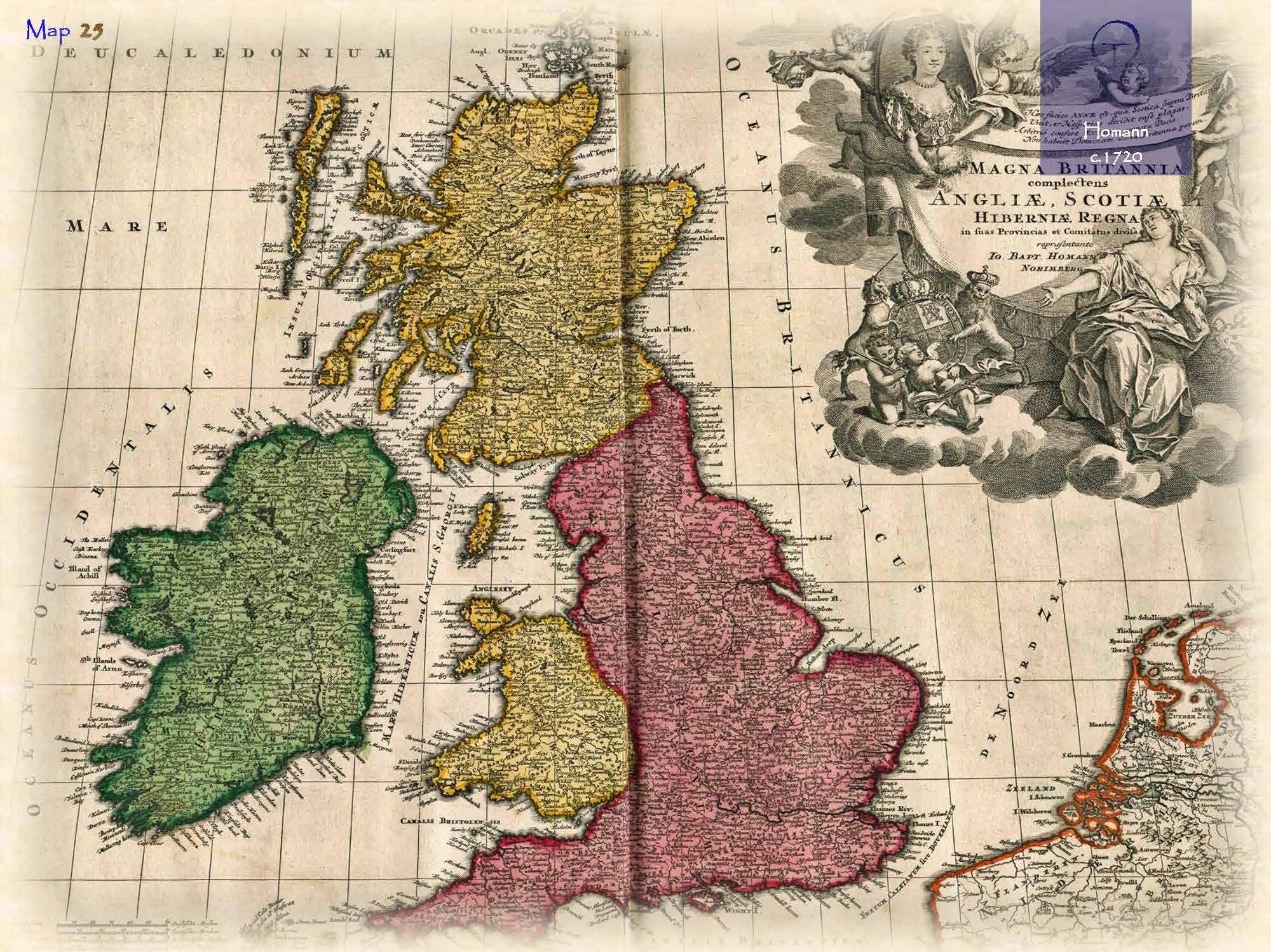 Historical e-atlases British Isles