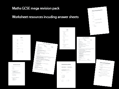 Maths revision mega bundle