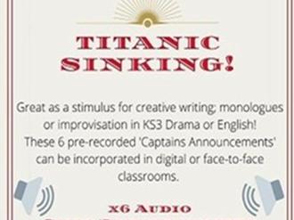 Titanic is Sinking! Audio resource