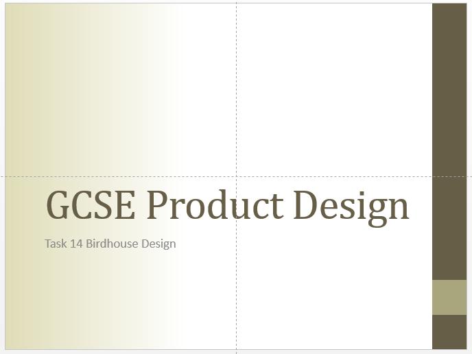 GCSE DT Example Portfolio & Templates