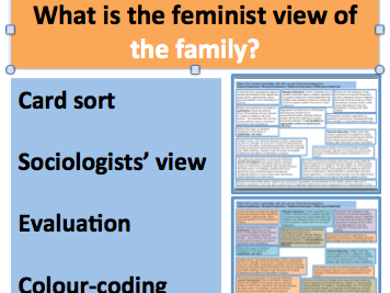 *FULL LESSON* What is the Feminist View of the Family? A-Level GCSE Sociology Families and Household