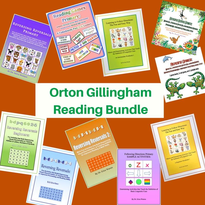 Orton Gillingham Reading Bundle