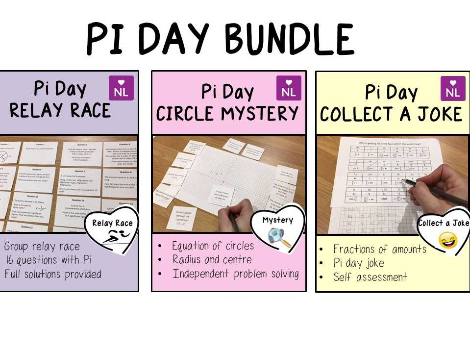 Pi day Maths Activity Pack