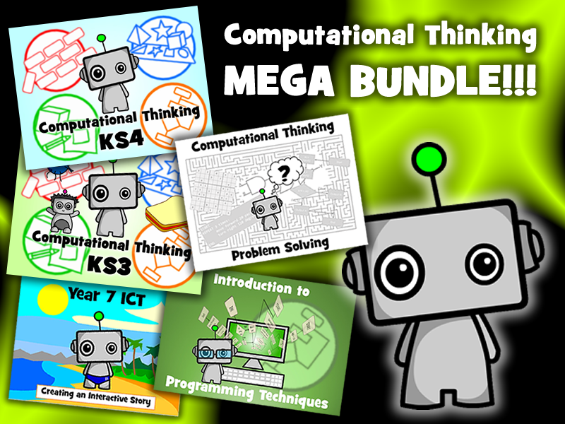 COMPUTATIONAL THINKING MEGA BUNDLE!!!