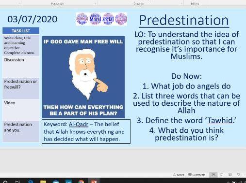 Predestination - Islam