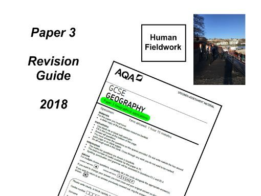 AQA PAPER 3 REVISION GUIDE 2018