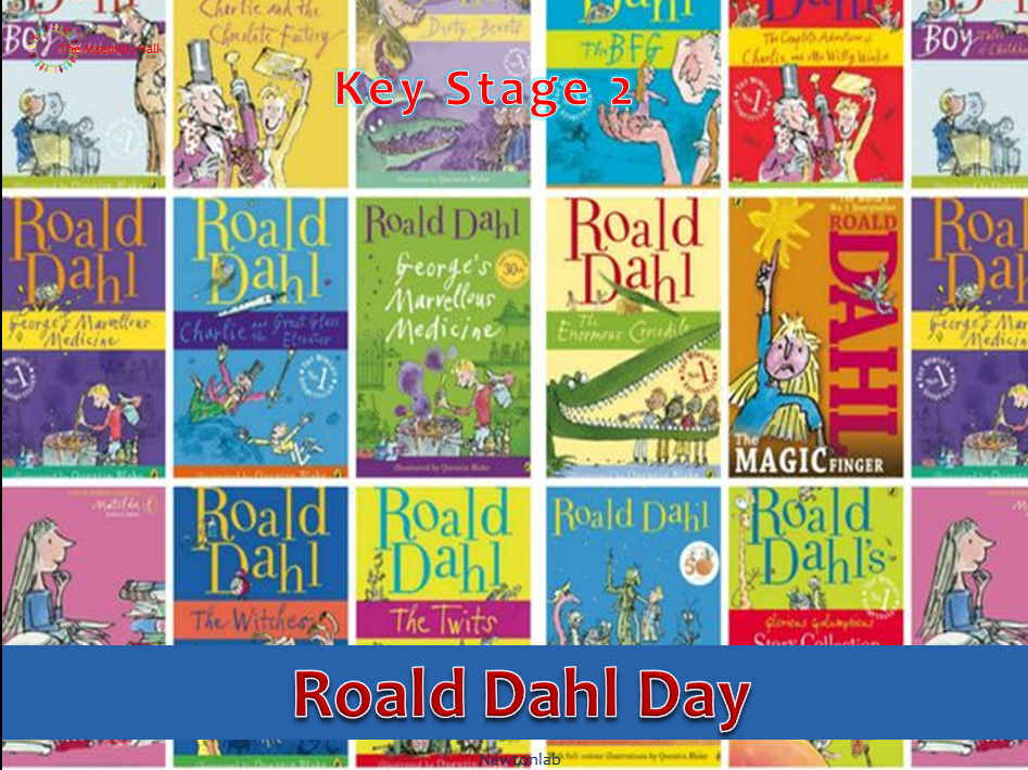 Roald Dahl Day-13th September 2020 - Key Stage 2