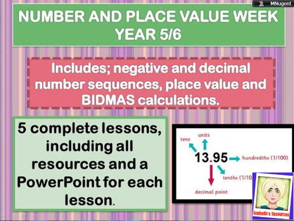 Complete Number week -Rounding and Negative numbers