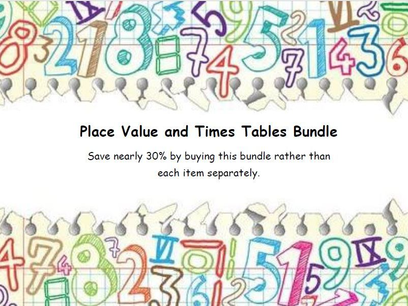 Place Value and Times Tables