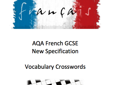 12 Crosswords - French GCSE New Spec - Identity and Culture