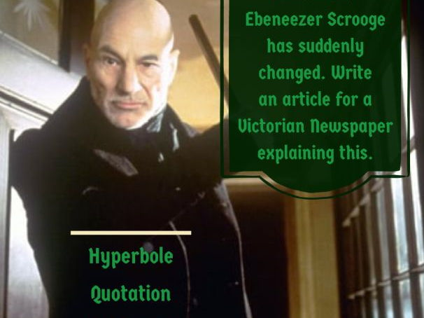 A Christmas Carol Creative Writing Challenges