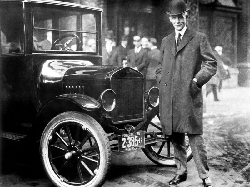 Introduction, 'The Boom', Henry Ford and Mass Production within the USA