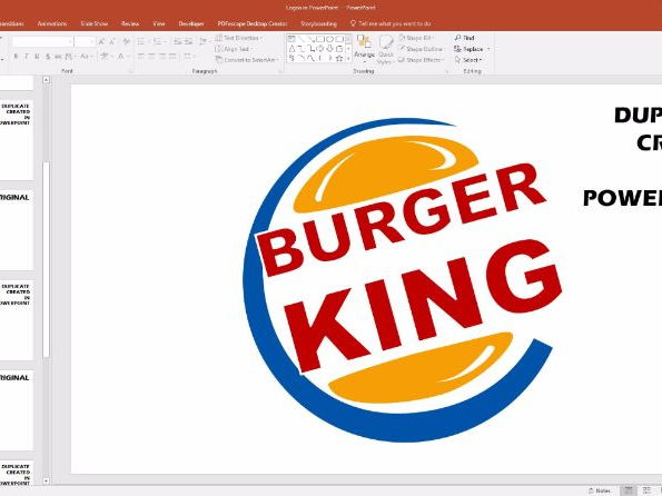 Real Logos Created in PowerPoint