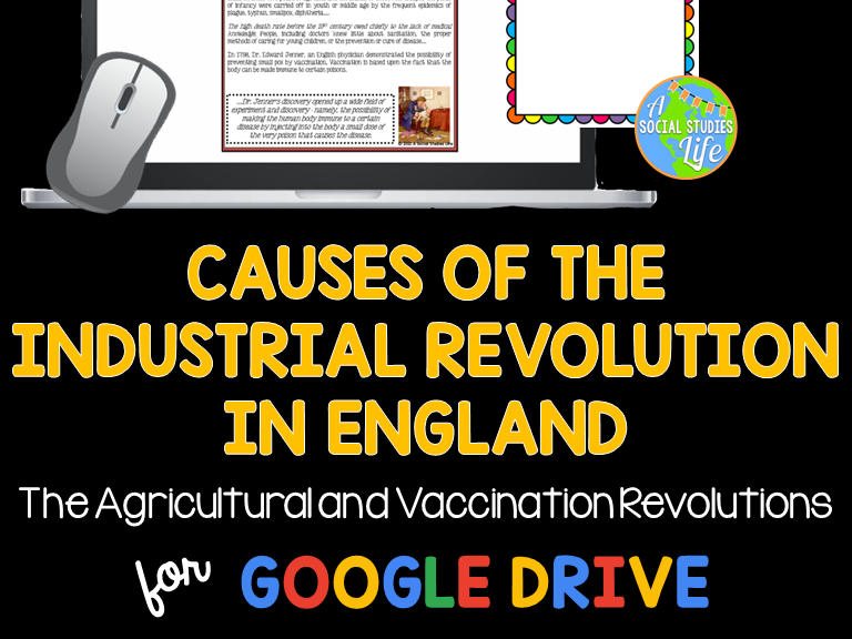 Causes of the Industrial Revolution in England