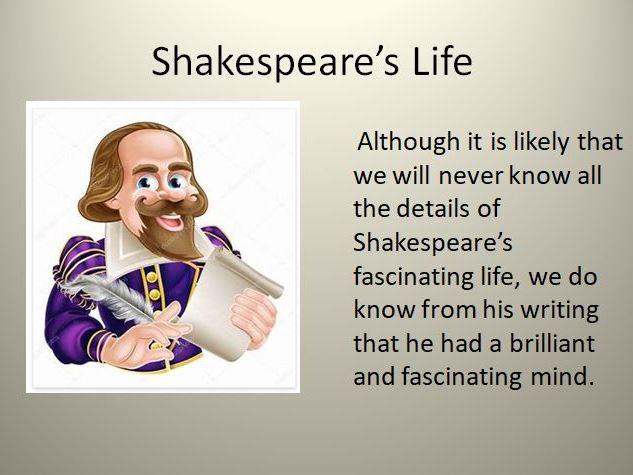 Shakespeare's Life Quiz