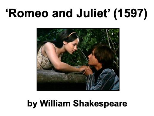 Romeo and Juliet (Shakespeare) - KS3