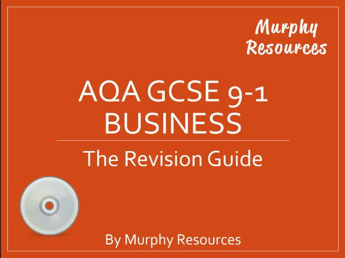 AQA GCSE 9-1 Business Revision (Sample)