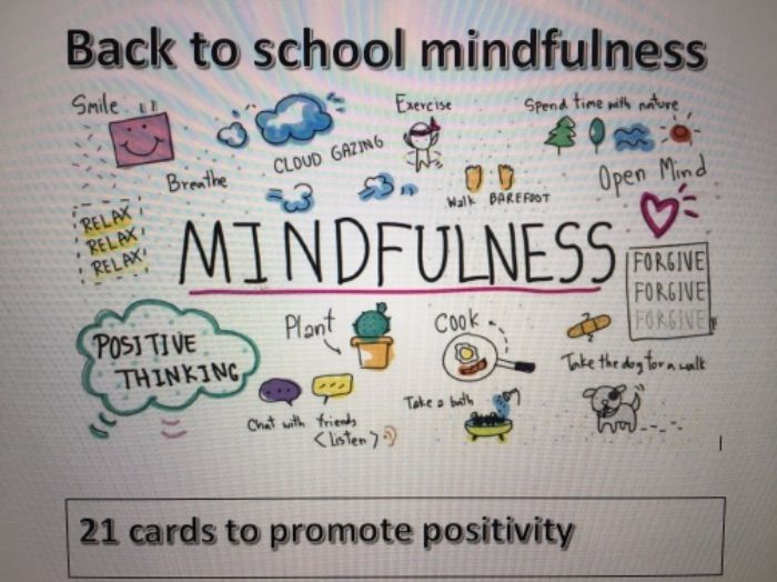 Back to school mindfulness