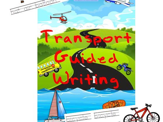 Transportation Guided Writing