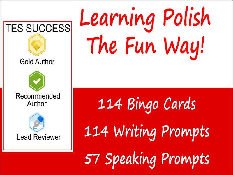 Learning Polish Is Fun Bundle