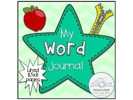 Word Journal (Full-page 8.5 x 11 size)