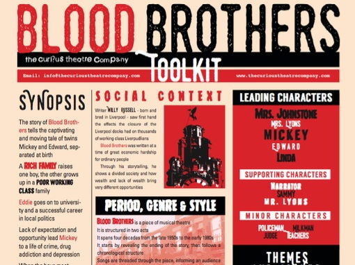Blood Brother Poster A4 pdf