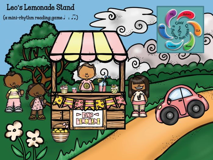 Leo's Lemonade Stand- an Interactive Music Rhythm game focusing on eighth and quarter notes