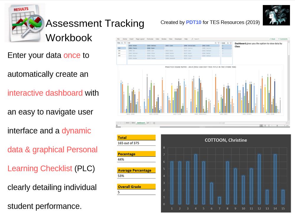 Assessment Tracking Workbook